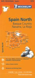 Spain North: Basque Country, Navarra and La Rioja (573) by Michelin Maps and Guides