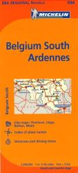 Belgium, South Ardenne (534) by Michelin Maps and Guides