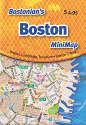 Bostonian's Boston Mini-Map by Opus Publishing