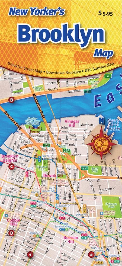 New Yorker S Brooklyn Map By Opus Publishing