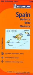 Balearic Islands, Spain (579) by Michelin Maps and Guides