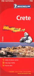 Crete, Greece (759) by Michelin Maps and Guides