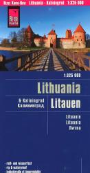 Lithuania and Kaliningrad by Reise Know-How Verlag