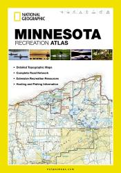 Minnesota Recreation Atlas by National Geographic Maps