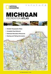 Michigan Recreation Atlas by National Geographic Maps