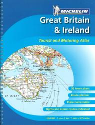 Great Britain and Ireland, Spiral Bound Atlas (122) by Michelin Maps and Guides