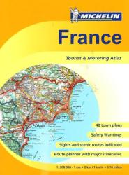 France, Road Atlas, Sprial Bound (20197) by Michelin Maps and Guides