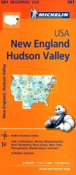 Hudson Valley, New England (581) by Michelin Maps and Guides