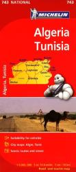Algeria and Tunisia (743) by Michelin Maps and Guides