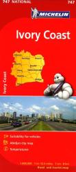 Ivory Coast (747) by Michelin Maps and Guides