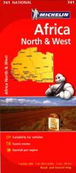 Africa, North and West (741) by Michelin Maps and Guides
