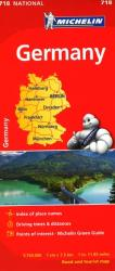 Germany (718) by Michelin Maps and Guides