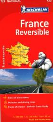 France, Reversible (722) by Michelin Maps and Guides