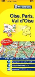 Oise, Paris, Val d'Oise (305) by Michelin Maps and Guides
