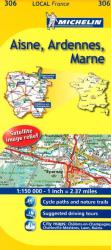 Aisne, Ardennes, Marne (306) by Michelin Maps and Guides