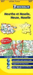 Meurthe-et-Moselle, Meuse, Moselle (307) by Michelin Maps and Guides