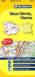 Deux-Sevres, Vienne (322) by Michelin Maps and Guides