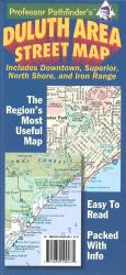 Duluth, Minnesota and Superior, Wisconsin by Hedberg Maps