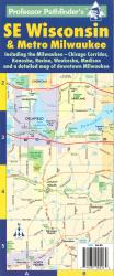 Milwaukee and Southeastern Wisconsin by Hedberg Maps