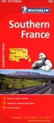 France, Southern (725) by Michelin Maps and Guides