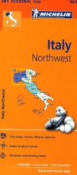 Italy, Northwest (561) by Michelin Maps and Guides