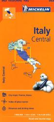 Italy, Central (563) by Michelin Maps and Guides