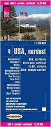 United States, Northeast by Reise Know-How Verlag