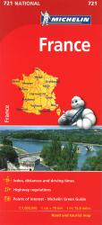 France (721) by Michelin Maps and Guides