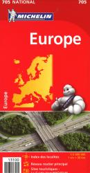 Europe (705) by Michelin Maps and Guides