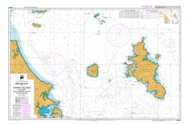 BREAM TAIL TO KAWAU ISLAND (NZ522) by Land Information New Zealand (LINZ)