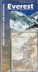 Everest Trekking Map and Complete Guide by Milestone Guides
