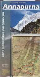 Annapurna Trekking Map and Complete Guide by Milestone Guides