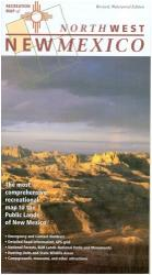 New Mexico, Northwest, Recreation Map by Public Lands Interpretive Association