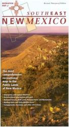 New Mexico, Southeast, Recreation Map by Public Lands Interpretive Association