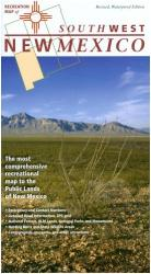 New Mexico, Southwest, Recreation Map by Public Lands Interpretive Association