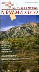 New Mexico, South Central, Recreation Map by Public Lands Interpretive Association