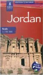 Jordan Travel Map by GEOProjects