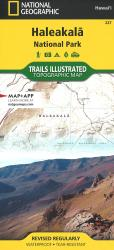 Haleakala National Park, Map 227 by National Geographic Maps