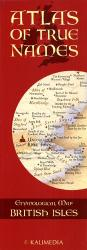 Atlas of True Names, Etymological Map British Isles by