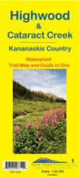 Highwood and Cataract Creek, Alberta Trail Map and Guide in One (waterproof) by Gem Trek