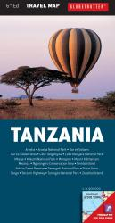 Tanzania, Travel Map by New Holland Publishers