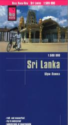 Sri Lanka road map by Reise Know-How Verlag