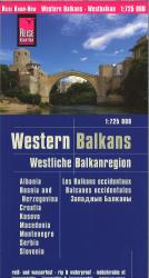 Western Balkans Road Map by Reise Know-How Verlag
