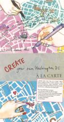 Create your own Washington D.C.: A la Carte Map by A la Carte Maps