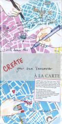 Create your own Vancouver : A la Carte Map by A la Carte Maps