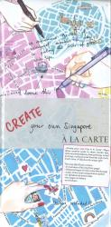 Create Your Own Singapore by A la Carte Maps