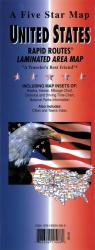 United States, Rapid Routes by Five Star Maps, Inc.
