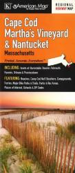 Cape Cod, Martha's Vineyard and Nantucket, Massachusetts by Kappa Map Group