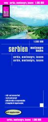 Serbia, Montenegro and Kosovo by Reise Know-How Verlag