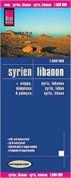 Syria and Lebanon (ft. Aleppo, Damascus, and Palmyra) by Reise Know-How Verlag